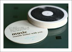 coasters for your guests