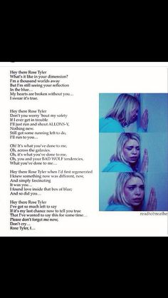 Hey there Delilah doctor who version
