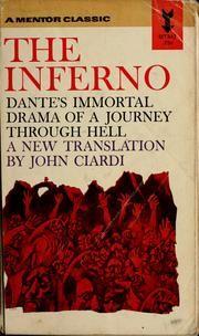 Inferno by Dante Alighieri, 1954, New American Library edition, in English