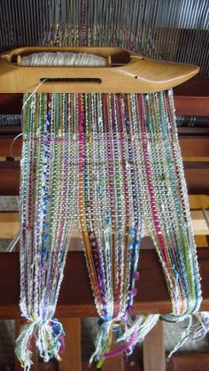 Handwoven Scarf Spring Woven Scarf by barefootweaver on Etsy