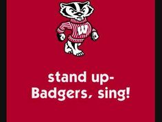 University of Wisconsin Badgers - fight song with words - On Wisconsin!