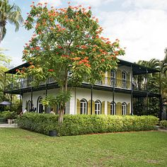Earnest Hemmingway's House in Key West.  Be sure to check it out while in town.