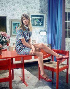 Jane Birkin as Judy in Poor Cherry, 1967.