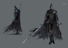 Dark Souls 3 Artbook: Boss Dark Souls, Dark Souls 3, артбук, Концепт-арт, босс, длиннопост
