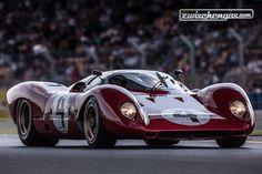 Ferrari 312P (1969) - Le Mans Classic 2014  © Daniel Reinhard für Zwischengas