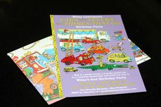 How to Busytown invitation