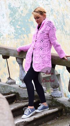 Crochet cardigan by Aisha Crochet