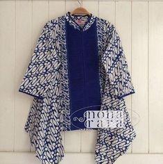 Womens Fashion - trendy ideas for dress brokat kombinasi polos dress Batik Blazer, Blouse Batik, Batik Dress, Batik Fashion, Hijab Fashion, Traditional Fabric, Traditional Outfits, Outer Batik, Batik Parang