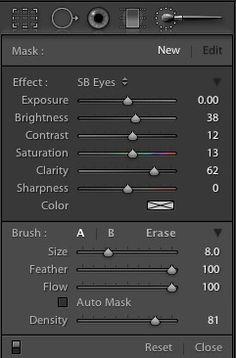Editing Eyes in Lightroom | Scot Baston