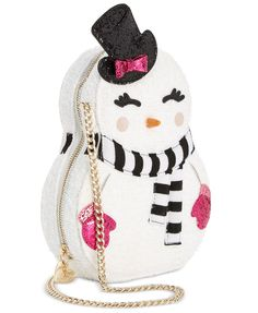 Betsey Johnson Snowgal Mini Crossbody | macys.com
