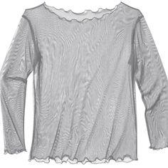 Silk Tulle Shirt - Organic Silk