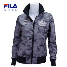 50% off  FILA  ゴルフ レディス ボンディングブルゾン 795-241 :795241-bk:image - 通販 - Yahoo!ショッピング Rain Jacket, Windbreaker, Golf, Jackets, Fashion, Down Jackets, Moda, Fashion Styles, Jacket