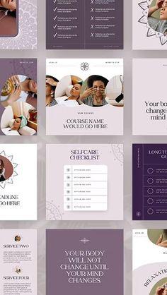 Coach Instagram, Instagram Quotes, Instagram Feed, Instagram Posts, Social Media Template, Social Media Design, Social Media Graphics, Blog Templates Free, Graphic Design Lessons