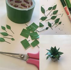 Interview: How a Personal Project of Paper Plants Blossomed into a Thriving Care… Entretien: Comment un projet personnel d'usines de … Doll House Crafts, Doll Crafts, Miniature Plants, Miniature Dolls, Diy Dollhouse, Dollhouse Miniatures, Diy Barbie Furniture, Barbie Furniture Tutorial, Paper Plants