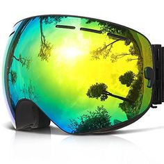 49c9914f637a COPOZZ G1 Ski Goggles For Snow Snowboard Snowmobile Skate Motorcycle Riding  - For Men Women Youth