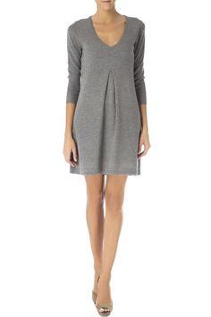 Gant - Vestido cuello pico 97,00€