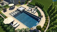 Pool Spa, Swimming Pools Backyard, Swimming Pool Designs, Lap Pools, Indoor Pools, Pool Decks, Backyard With Pool, Inground Pool Designs, Modern Architecture