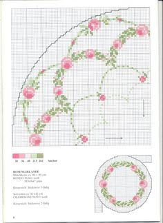 Gallery.ru / Фото #9 - Round tablecloths - irislena  http://www.pinterest.com/adalheidr/12-%C3%BAtsaumur-embroidery/   http://www.pinterest.com/pcristo/mags/