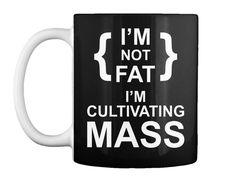 I'm Cultivating Mass Tank Top Black Mug Front