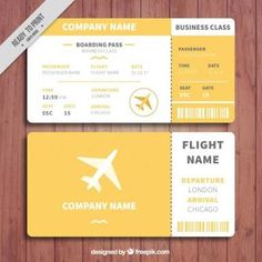 Image result for boarding pass design