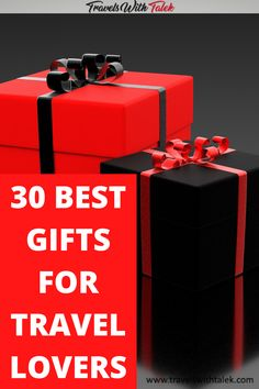 The best gifts for travel lovers are useful, thoughful and quality products the travel lover on your list will appreciate. These gifts meet all the requirements for the best travel gifts! #gifts #travelgifts #travel Travel Gadgets, Travel Hacks, Budget Travel, Travelling Tips, Packing Tips For Travel, Best Travel Gifts, Best Gifts, Travel Must Haves, Christmas Travel