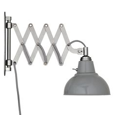 Buy John Lewis Croft Collection Campbell Extending Wall Light, Grey Online at johnlewis.com