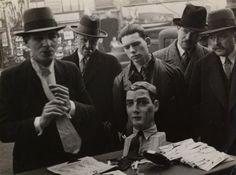 Brodsky, Tie Seller, Paris, c. 1935. Photographer unknown. Collection: Michel Frizot. See the Exposure column at Design Observer. http://designobserver.com/feature/exposure-brodsky-the-tie-seller-in-paris/38843/