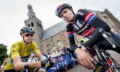 Chris Froome wint de sterk bezette Profwielerronde op 16 augustus voor Contador en Mollema. Een geweldig podium!