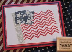 Patriotic Flag by deniseinpa - Cards and Paper Crafts at Splitcoaststampers