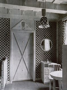 Josef Hoffmann at the Primavesi Country House.
