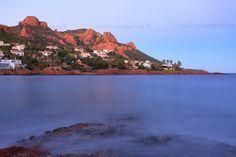 Anthéor Cap Roux dans le massif de l'Esterel, côte d'Azur