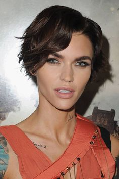 Ruby Rose hair & makeup - best beauty looks | Glamour UK