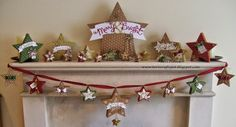 I completed my Many Merry Stars kit over this last weekend :o)     I really enjoyed putting this together and decorating them all.     ...