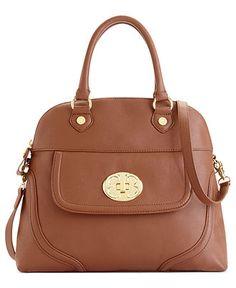 + love it wish it was a little bigger though Emma Fox Handbag. Classics Leather Dome Satchel - Handbags & Accessories - Macy's
