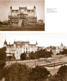 Calea Victoriei in perioada interbelica Interwar Period, Bucharest Romania, Old Photos, Cities, Memories, Vintage, Beautiful, Bucharest, Old Pictures
