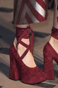 Vivienne Westwood Gold Label F/W 2014 platform ballet shoes