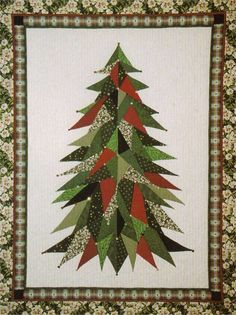 Christmas Quilting Patterns | QUILTED CHRISTMAS TREE SKIRT PATTERNS - FREE PATTERNS