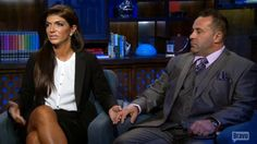 "Teresa and Joe Giudice opened up to Bravo's Andy Cohen in a special ""Watch What Happens Live,"" that was taped one day after the couple was sentenced in their fraud case. Teresa Giudice said she was ""so nervous"" before U.S. District Court Judge Esther Salas ruled that the reality star would get 15..."