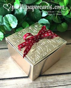 Pretty Paper Cards - Page 2 of 414 - Peggy Noe, Independent Stampin' Up! Christmas Gift Box, Holiday Gifts, Holiday Cards, Christmas Crafts, Christmas 2017, Holiday Ideas, Stampin Pretty, Pretty Box, Some Cards