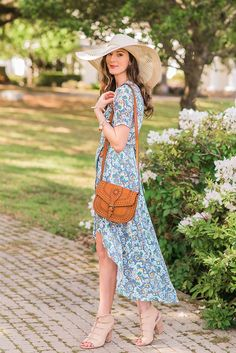 Spring wrap dresses and cut out wedges are still on trend from last year!!