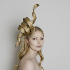Ivy - Carrie Jenkinson Millinery #fascinators #bespokefascinators #hats #headwear #milliners #millinery