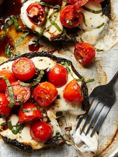 Veggie Dishes, Vegetable Recipes, Vegetarian Recipes, Healthy Recipes, Appetizer Recipes, Appetizers, Mushroom Caps, Clean Eating, Healthy Eating