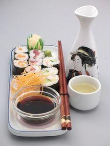 April 21, 2013--Sushi and Sake
