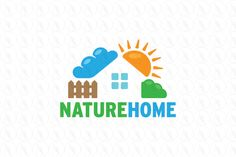 Nature Home - $280 (negotiable) http://www.stronglogos.com/product/nature-home #logo #design #sale #home #environment #friendly #real #estate #landscaping #builder
