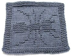 Pattern includes easy to follow instructions. Materials Needed: Straight knitting needles, size US 7 (4.5mm)  100% Cotton Medium/Worsted Weight yarn