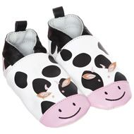Cow Leather Baby Booties