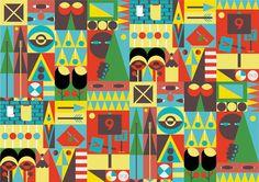 Jonathan Calugi - Illustration  #JonathanCalugi #pattern