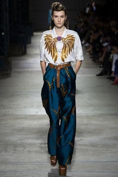 Dries Van Noten Spring 2016. See every look on Vogue.com