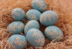 Kraslice - Margarétky II. Easter Eggs, Easter Decor, Clever, Easter Activities