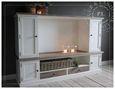 Maatwerk / landelijk tv meubel / flatscreen / old wood / PLEASURE | ☆ New Arrivals / Nieuwe collectie ☆ | Puur & Landelijk Living